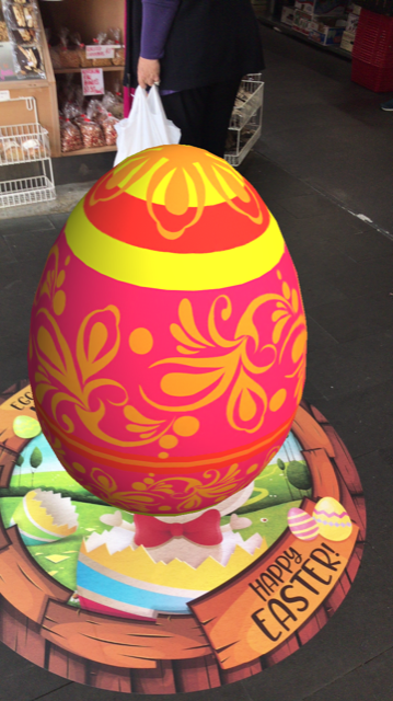 Augmented Reality Easter